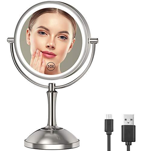 Gospire 8'' Lighted Makeup Mirror