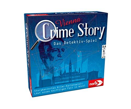 Noris 606201888 Crime Story Vienna-Das Detektiv Spiel-Storybasiertes Krimi-Kartenspiel zum Thema Wien, ab 12 Jahren