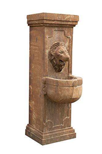 Kekse Wandbrunnen aus Stein 40 x 59 x 125 cm