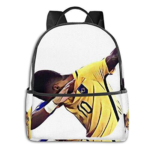xiameng Neymar Rucksack Unisex School Daily Rucksack Leichte Freizeitreise Outdoor Camping Daypack