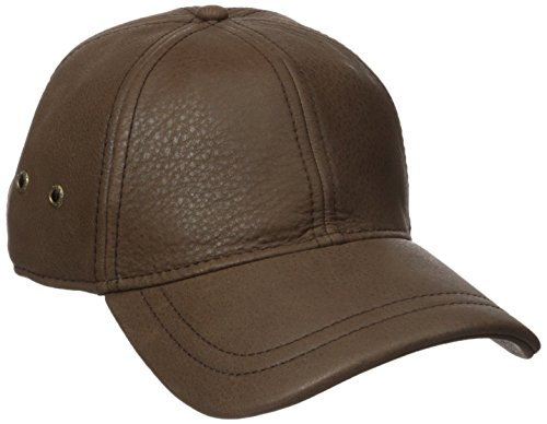 Stetson Men's Oily Timber Baseball Cap, Brown, One Size