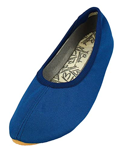 Beck Basic 070, Scarpe da Ginnastica Bambina, Blu (Blau), 27 EU