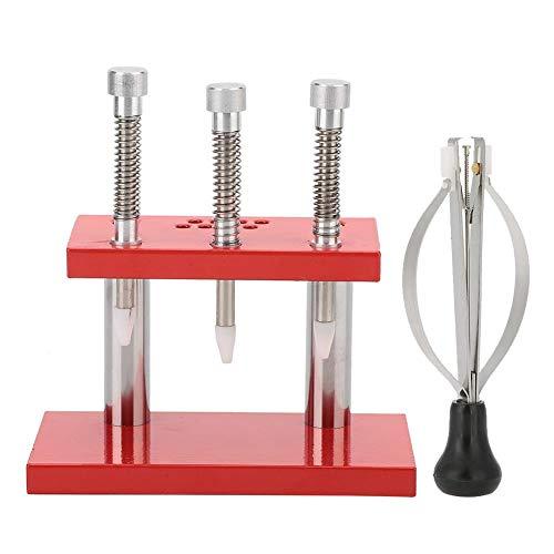 Extracteur de main de montre en acier inoxydable à réglage manuel pour pied-de-biche de montre pour montre-pied-de-biche de montre Kits d'outils de réparation de montre pour horlogers