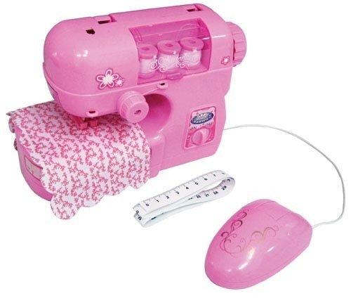 Máquina de coser para niños Rosa Con funciones que funcionan de verdad