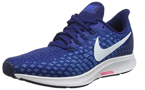 Nike Air Zoom Pegasus 35, Zapatillas de Running Hombre, Azul (Indigo Force/White/Photo Blue/Blue Void 404), 41 EU