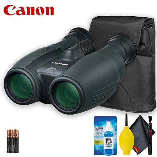 Canon 12x32 is Image Stabilized Binocular Base Accessory Bundle