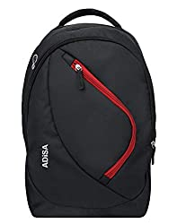 ADISA 35 Ltrs 17.5 inches Backpack (BP010-BLA_Black),ADISA,BP010