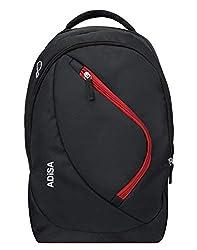 ADISA 35 Ltrs 17.5 inches Backpack (BP010-BLA_Black),ADISA,BP010