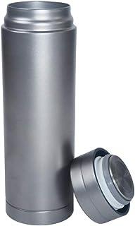 男性の女性のためのLeakproof旅行マグカップ100%チタンキャンプカップダブル真空断熱カップコーヒーマグホット10H&コールド24H、キャンプバックパッキング旅行用ビーチ、BPAフリー、300 ml,#1