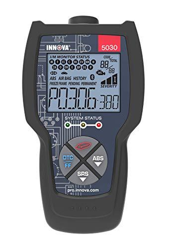 INNOVA CarScan Pro 5030 Code Scanner - Professional OBD2 Code Reader - Smog Test Scan Tool - ABS & SRS Code Reader