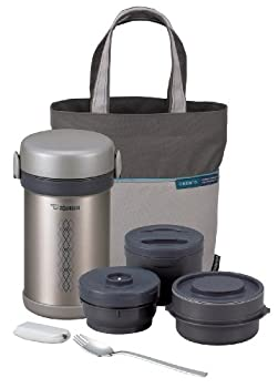 Zojirushi Ms Bento Stainless-Steel Vacuum Lunch Jar 28.5-Ounce Stainless