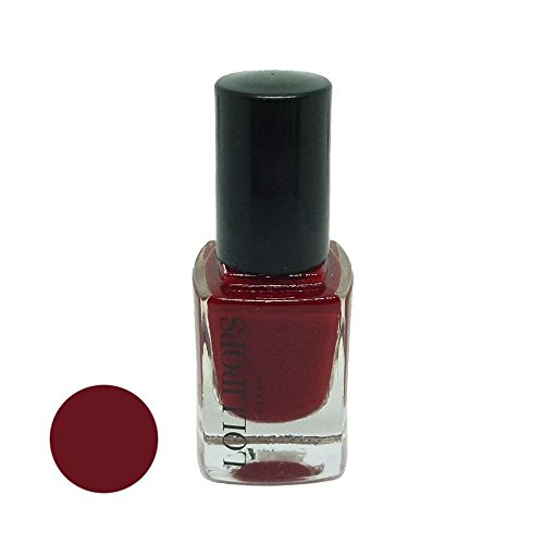 Lollipops Paris Nail Lacquer - colores diferentes. - Esmalte de uñas de manicura 12ml polaco - Velours Rouge