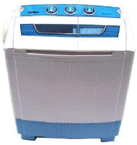 D+L GmbH Mini lavadora de 5,2 kg + centrifugado, camping, co
