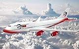 WallStickers-Extra Sticker mural 3D Motif avion Rouge, Tissu non tissé, 350cmx256cm
