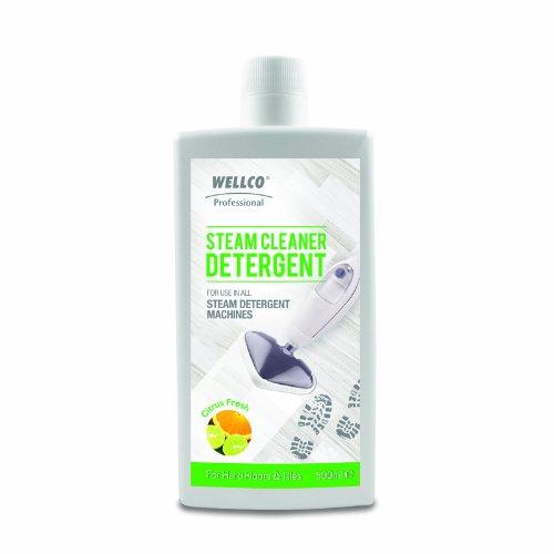 Wellco Support professionnel &agrumes Détergent pour nettoyeur vapeur 500 ml
