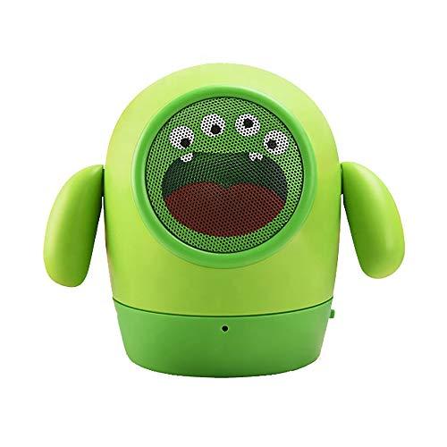 ZUEN Cartoon Kleiner gelber Mann Puppe Bluetooth Lautsprecher Multifunktions Kinder Geschenk Kleiner Lautsprecher,B