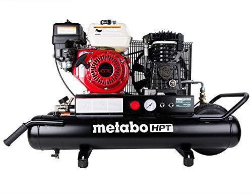 Metabo HPT Air Compressor, Wheeled, 8-Gallon, Gas Powered, Honda GX Engine (EC2510E)