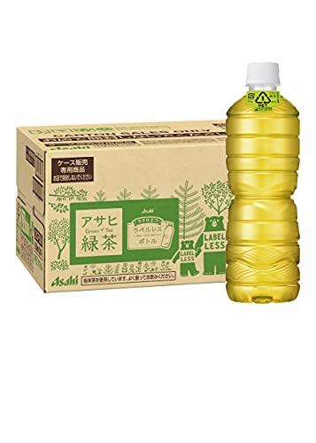 アサヒ飲料 緑茶 ラベルレスボトル 630ml 1箱(24本)