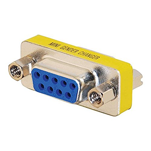 Cables To Go Mini Gender Changer - Cambiador hembra /hembra  Para Serie - Db-9 (H) - Db-9 (H)