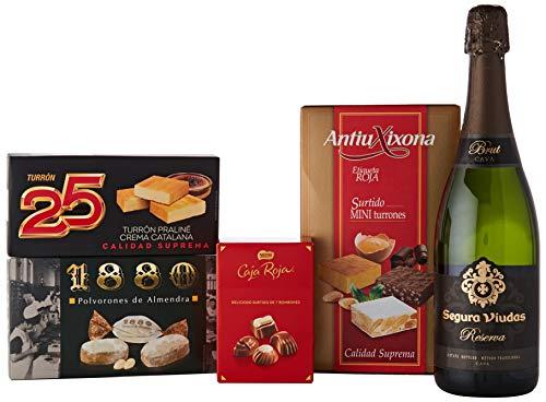Lotes, Cestas y Regalos Lote De Navidad, 2200 g, Pack de 1