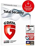 G DATA Total Security 2021, 5 Geräte - 1 Jahr, Download, Aktivierungscode per Email, PC, Apple Mac, Android, iOS, Made in Germany - zukünftige Updates inklusive