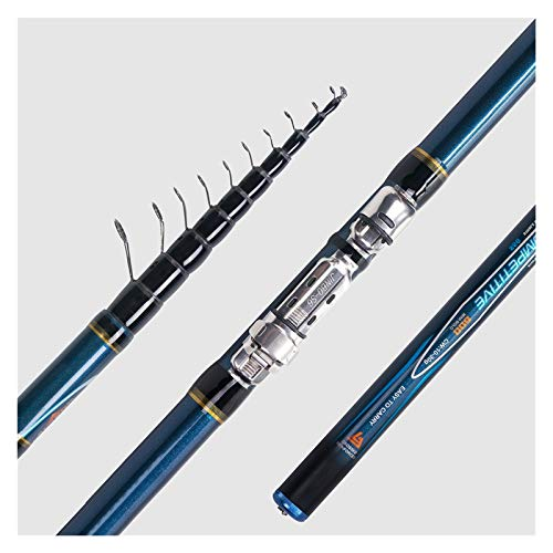 DDoyci Teleskop Bolo Angelrute 4/4,5/5/6 M HIGH Carbon Trout Reise Ultra Light Spinning Float Bolognese 10-30g (Length : 6M)