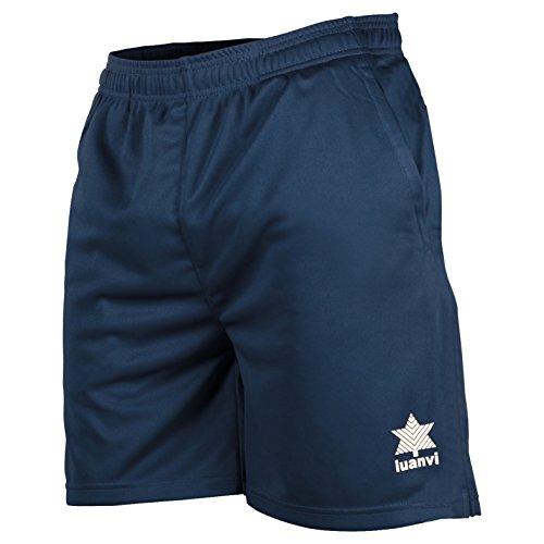 Luanvi Walk Short de Tennis Homme M Bleu Marine