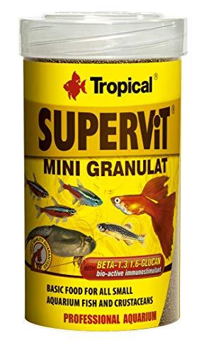TROPICAL Supervit Mini Granulat Nourriture pour Aquariophilie 250 ml