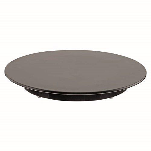 Tortenplatte silber gesprenkelte stabile Ausführung aus Melamin schnitt- und bruchfest Profiqualität