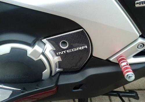 PROTECCIÓN DE CIGÜEÑAL Pegatinas DE Resina 3D compatibles con el Scooter Honda Integra 750