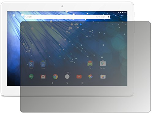 dipos I Blickschutzfolie matt kompatibel mit Trekstor Surftab Breeze 10.1 Quad 3G Sichtschutz-Folie Bildschirm-Schutzfolie Privacy-Filter