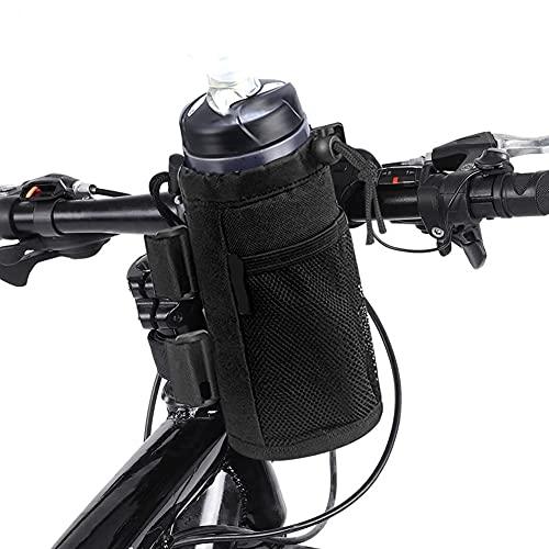 Portaborraccia Bici Bambino HAMON Tessuto Oxford Borsa portaborraccia per Bici Porta Borracce Bici da Corsa con Cinghie di Fissaggio per Passeggino Tutte Le Biciclette Uso