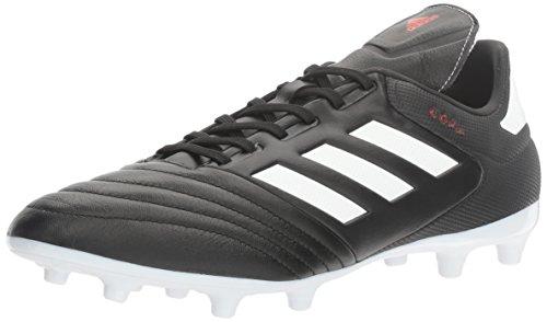 adidas Men's copa 17.3 fg Soccer Shoe, White/Black, (8.5 M US)