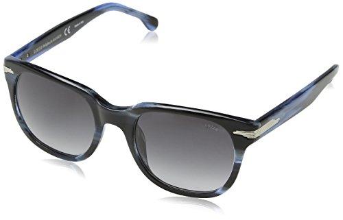 Lozza Herren Sl4069M Sonnenbrille, Grau (Blue Horn+Azure), Einheitsgröße
