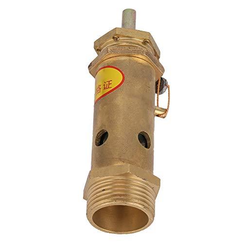Válvula de presión, válvula de compresor de aire resistente, válvula de alivio G3 / 4 fácil de instalar, para generadores de vapor industriales o calderas eléctricas, calderas de carbón