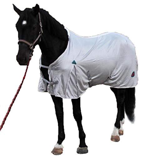 LGFV Pferdedecke Pferde Mantel Sommer Leichte Bequemes Pferdeschutzgitter Polyester Geeignet Für Pferd Pony Grooming Und Pflege Equestrian Supplies