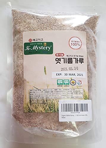 Organic Malted Barley Flour, 유기농 엿기름, 500g (1.1lb) from Korea 100%