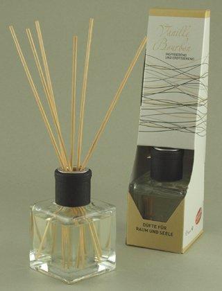 Aroma Manufaktur kamergeur diffuser aromasticks geuren voor kamer en ziel vanille bourbon 100 ml