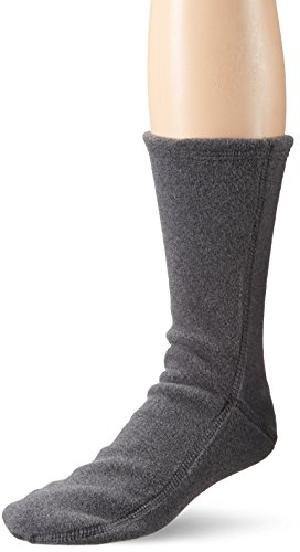 Acorn Versafit Sock Slipper, Charcoal, Large