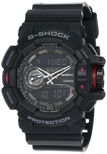 Casio G SHOCK GA-400-1B - Orologio analogico digitale al quarzo Reloj (Modelo de Asia)