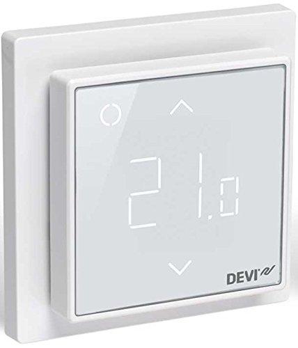 Devireg Smart Polarweiß - Thermostat für Fußbodenheizung mit WLAN-Anbindung