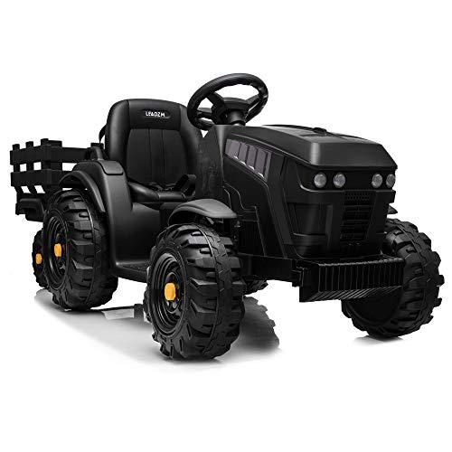 JOYMOR Ride on Tractor with Trailer, 12v...