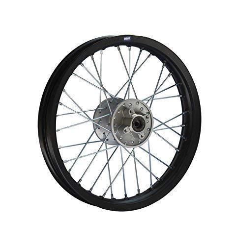 HMParts Pit Bike/Moto de Cross/Cross Llanta de Aluminio Anodizado 16 Trasero S