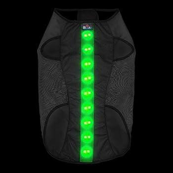 HOTDOG Gilet de sécurité à LED pour Chien