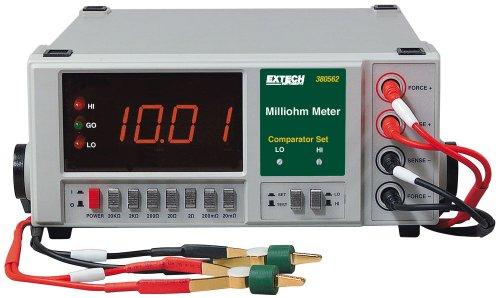 Extech 380562 220VAC Präzisions-Milliohmmeter