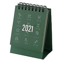 1本 卓上カレンダー シンプルなスタイル ビジネスメモ帳 2020年7月から2021年12月配達6〜9労働日まで