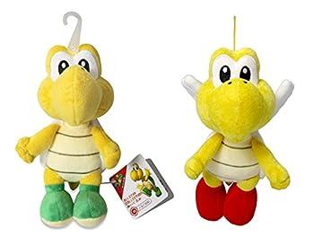 Sanei Super Mario All Star AC13 Koopa Troopa & AC22 Koopa Paratroopa Stuffed Plush Doll  Set of 2