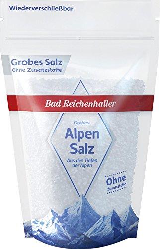 Bad Reichenhaller Alpensalz grob (500 g)