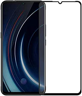 Ineix Full Screen Tempered Glass Screen Protector For Vivo Y15 - BLack