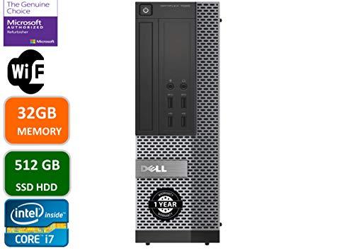 Dell Optiplex 7020 Desktop Computer, Intel...